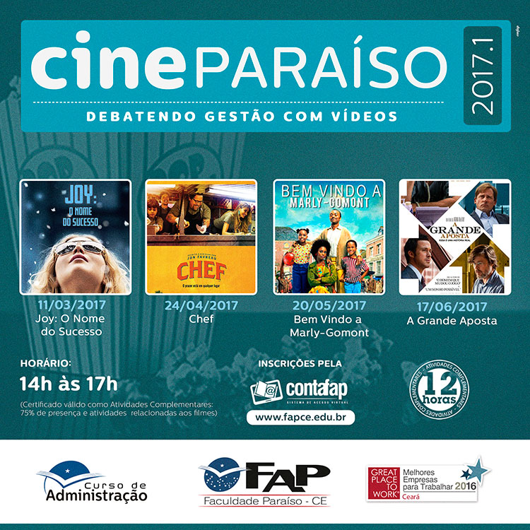 Cine Paraíso 2017.1