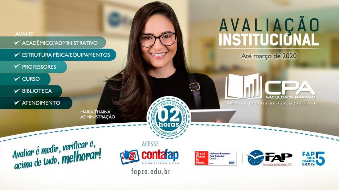 Imagem Avaliação Institucional 2019