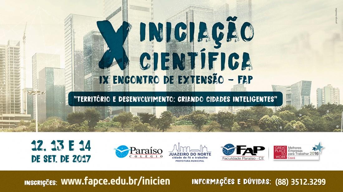 Banner do evento Encontro de Iniciação Científica